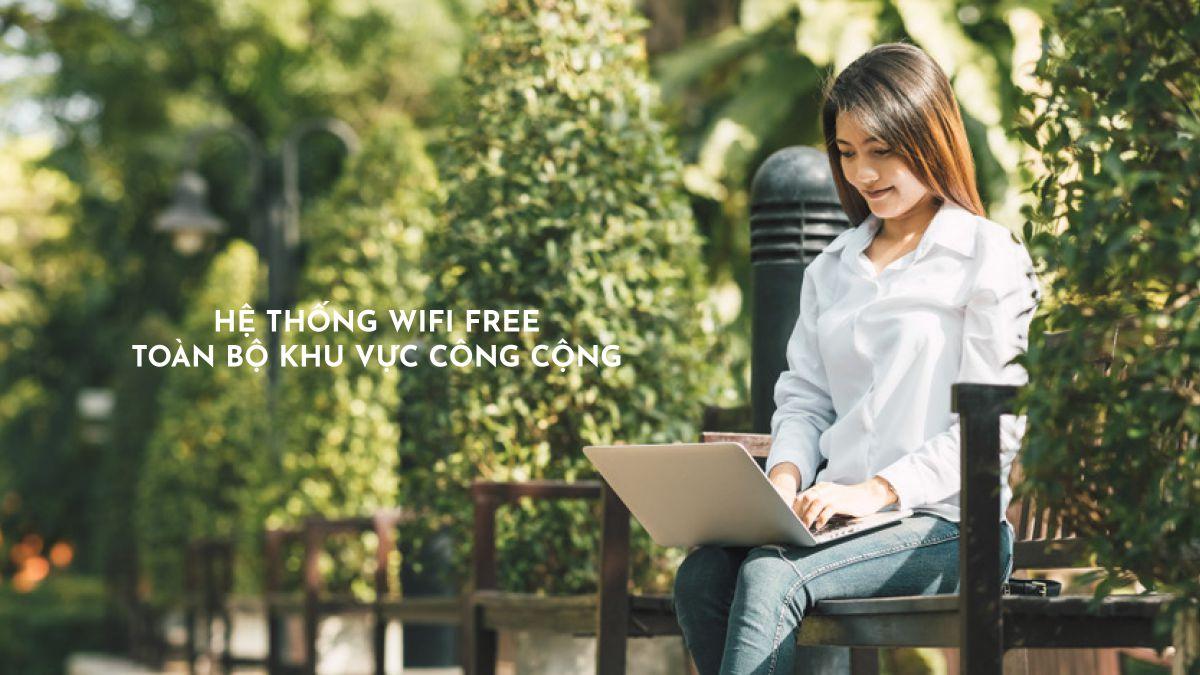 hệ thống wifi toàn khu tại căn hộ happy one thạnh lộc quận 12
